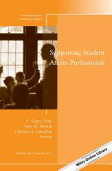Supporting Student Affairs Professionals Book PDF