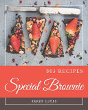 365 Special Brownie Recipes