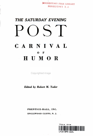 the Saturday Evening Post Carnival of Humor