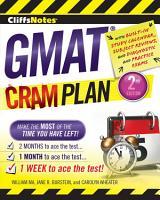 CliffsNotes GMAT Cram Plan  2nd Edition PDF
