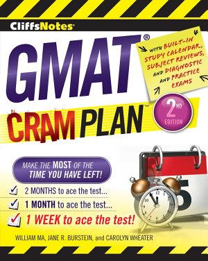 CliffsNotes GMAT Cram Plan  2nd Edition