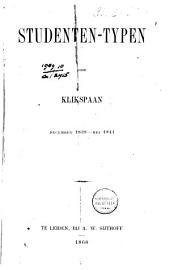 Studenten-typen: december 1839 - mei 1841