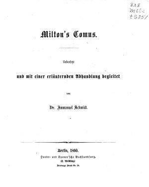 Milton s Comus PDF