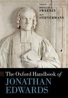 The Oxford Handbook of Jonathan Edwards PDF