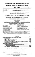 Department of Transportation and Related Agencies Appropriations for 2000  Department of Transportation  Coast Guard PDF