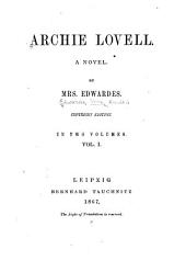 Archie Lovell: Volume 1
