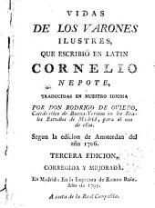 Vidas de los varones ilustres que escribió en latin traducidas en nuestro idioma por Rodrigo de Oviedo