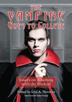 The Vampire Goes to College PDF