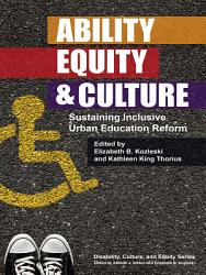 Ability Equity And Culture Book PDF