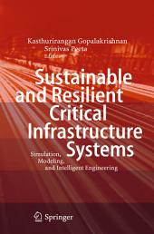 Sustainable and Resilient Critical Infrastructure Systems: Simulation, Modeling, and Intelligent Engineering