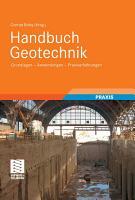 Handbuch Geotechnik PDF