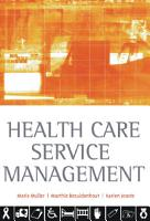 Health Care Service Management PDF