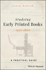 Studying Early Printed Books, 1450-1800