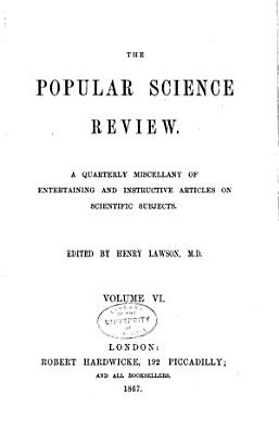 The Popular Science Review PDF
