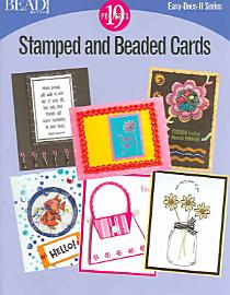 Stamped And Beaded Cards