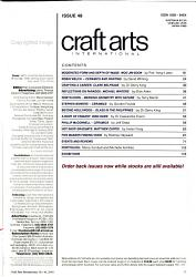 Craft Arts International Book PDF