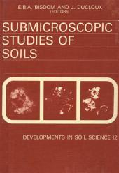 Submicroscopic Studies of Soils