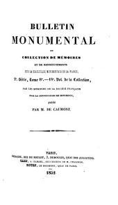 Bulletin monumental: Volume11;Volume18