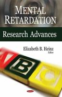 Mental Retardation Research Advances PDF