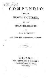 Compendio della nuova dottrina delle malattie mentali