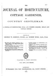 The Journal of Horticulture, Cottage Gardener, and Country Gentlemen