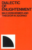 Dialectic of Enlightenment PDF
