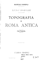 Topografia di Rome antica: con 7 tavole