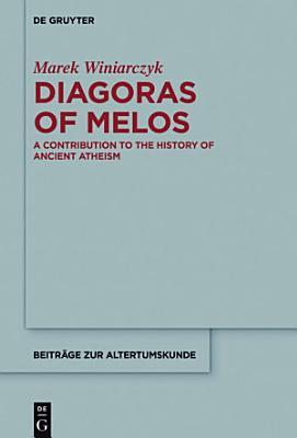 Diagoras of Melos PDF