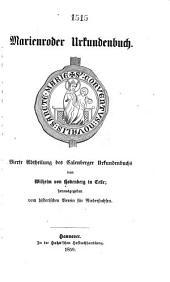 Urkundenbuch: Band 4