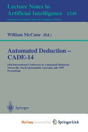 Automated Deduction - Cade-14