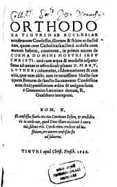 Orthodoxa Tigurinae ecclesiae ministrorum confessio