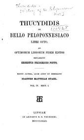 Thucydidis De Bello Peloponnesiaco libri octo: Volume 4
