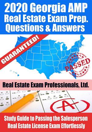 2020 Georgia AMP Real Estate Exam Prep Questions   Answers