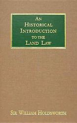 An Historical Introduction To The Land Law Book PDF