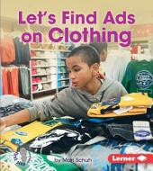 Let's Find Ads on Clothing