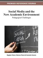 Social Media and the New Academic Environment  Pedagogical Challenges PDF