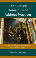 The Cultural Semantics of Address Practices PDF