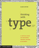 Thinking with Type  A Primer for Deisgners