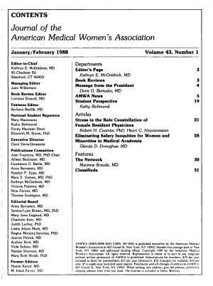 Journal of the American Medical Women s Association PDF