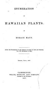 Enumeration of Hawaiian Plants