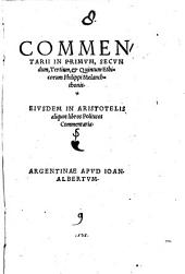 In Aristoteles Ethica commentarii