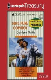 100% Pure Cowboy: A Single Dad Romance