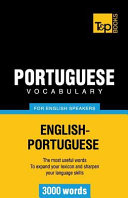 Portuguese Vocabulary for English Speakers   3000 Words PDF