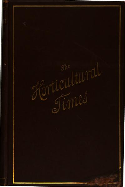 Download The Horticultural Times and Covent Garden Gazette Book