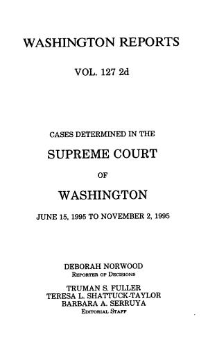 Washington Reports PDF