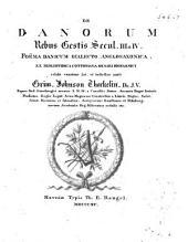De Danorum rebus gestis secul. III & IV.: Poëma danicum dialecto ang1o-saxonica