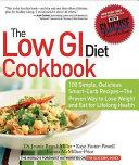 The Low GI Diet Cookbook PDF