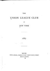 The Union League Club of New York ...