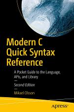Modern C Quick Syntax Reference
