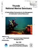 Thunder Bay National Marine Sanctuary PDF